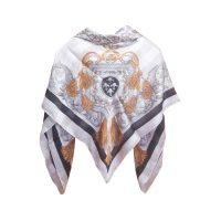 روسری طرح لميز 2 كد 15020117 رنگ سفيد