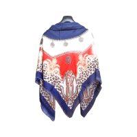 روسری طرح پلنگی سورمه ای كد 15020087