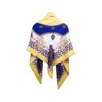 روسری طرح پلنگی زرد كد 15020086