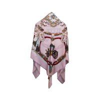 روسری طرح كالسكه صورتی كد 15020080