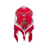 روسري طرح كالسكه قرمزكد 15020081