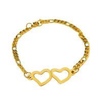دستبند مدل 2 قلب کد 180067