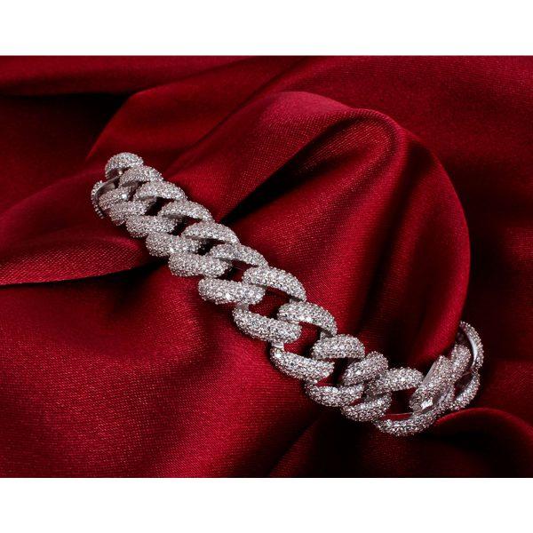 دستبند نقره زنانه مدل kariteh کد ۱۸۰۱۵۸
