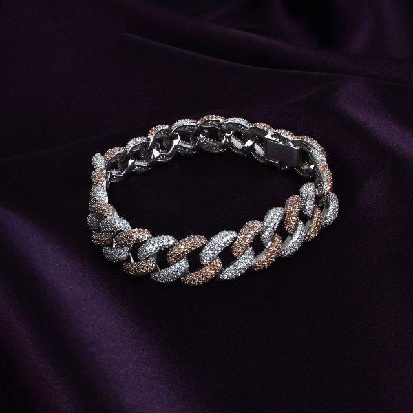 دستبند نقره زنانه مدل kariteh کد ۱۸۰۱۵۷