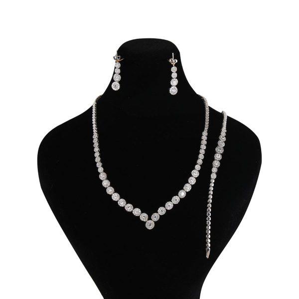خرید سرویس نقره زنانه مدل ژایوی