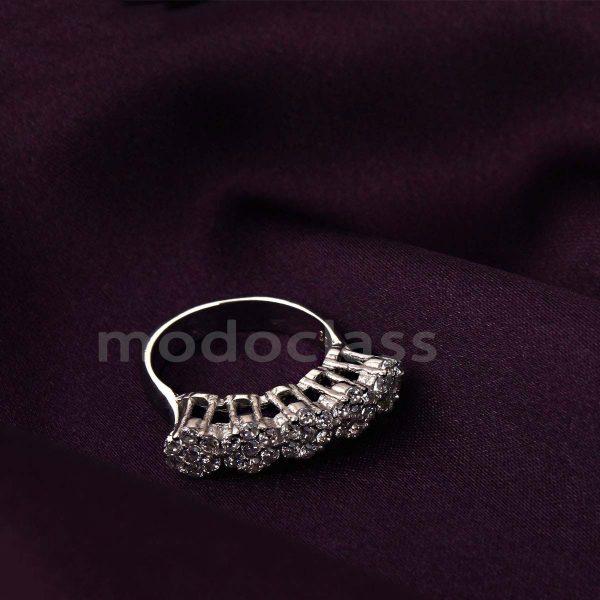 انگشتر نقره مد و کلاس مدل Jeweled کد ۱۸۰۲۶۷