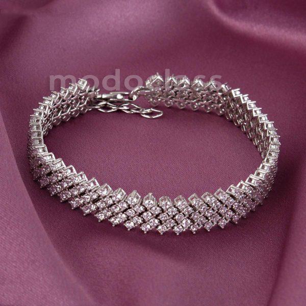 دستبند نقره مد و کلاس مدل Jewelry کد ۱۸۰۲۵۵