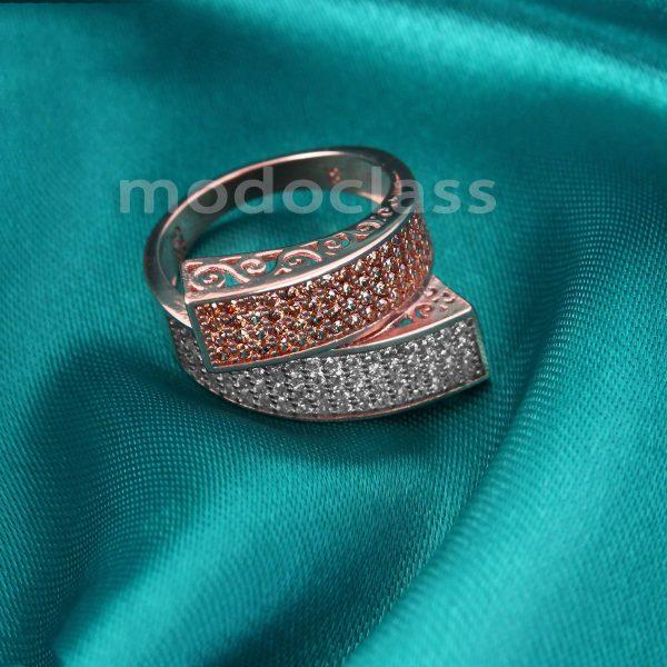 انگشتر نقره مد و کلاس مدل Jeweled کد ۱۸۰۲۷۱