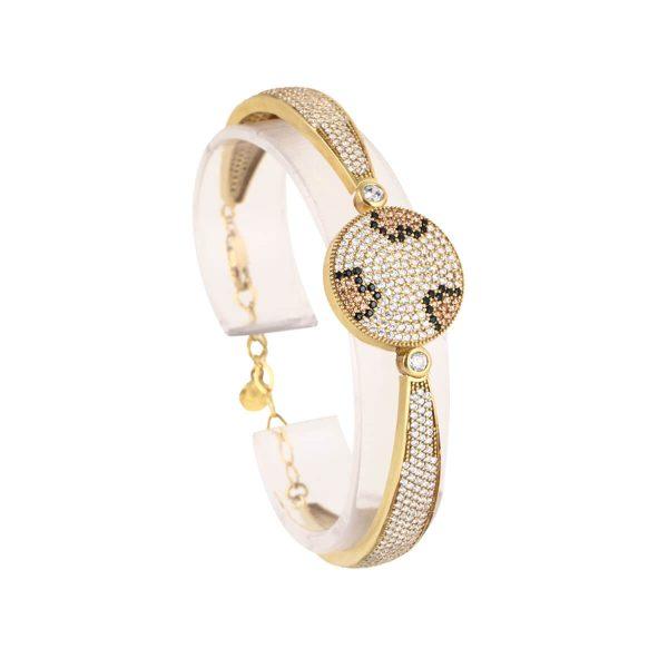 خرید دستبند نقره زنانه نگین دار مدل کلارا