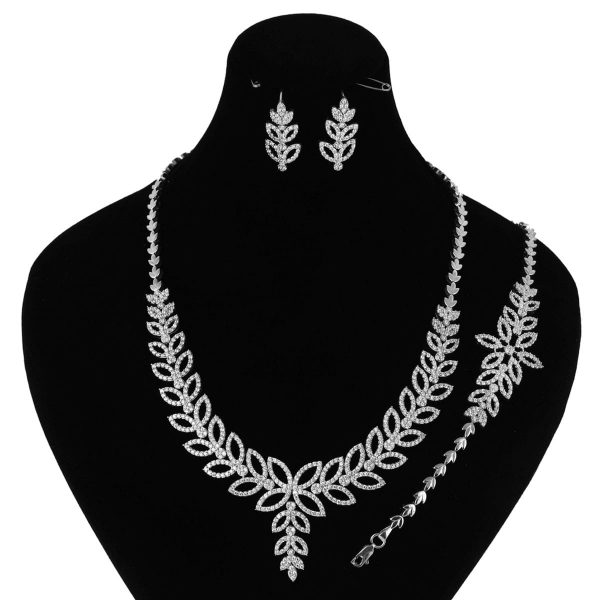 خرید سرویس نقره زنانه مدل ماگنولیا