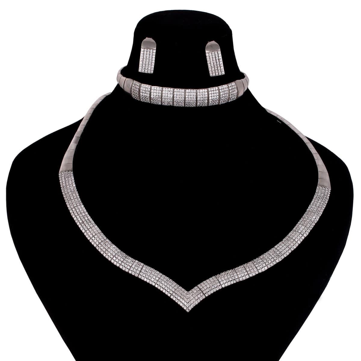 خرید سرویس نقره زنانه مدل نارمیلا