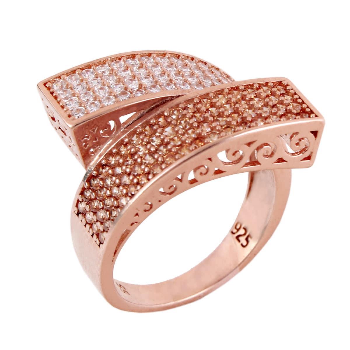 خرید انگشتر نقره زنانه نگین دار مدل وانیا