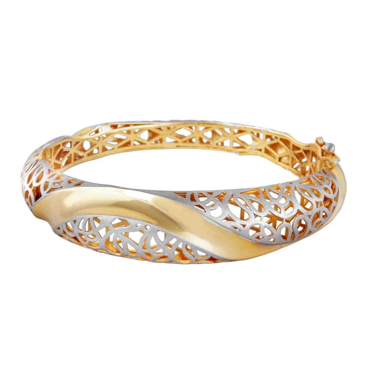 خرید اینترنتی دستبند نقره زنانه نگین دار مدل Prestige