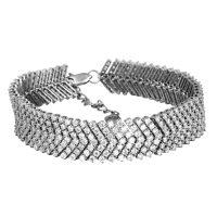 خرید دستبند نقره دخترانه نگین دار مدل اورانوس