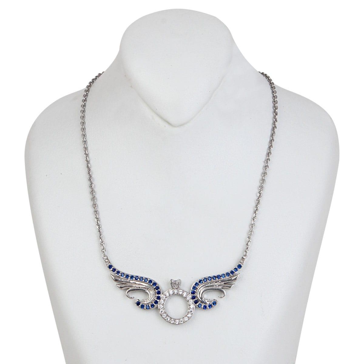 خرید گردنبند نقره زنانه مدل لیزا