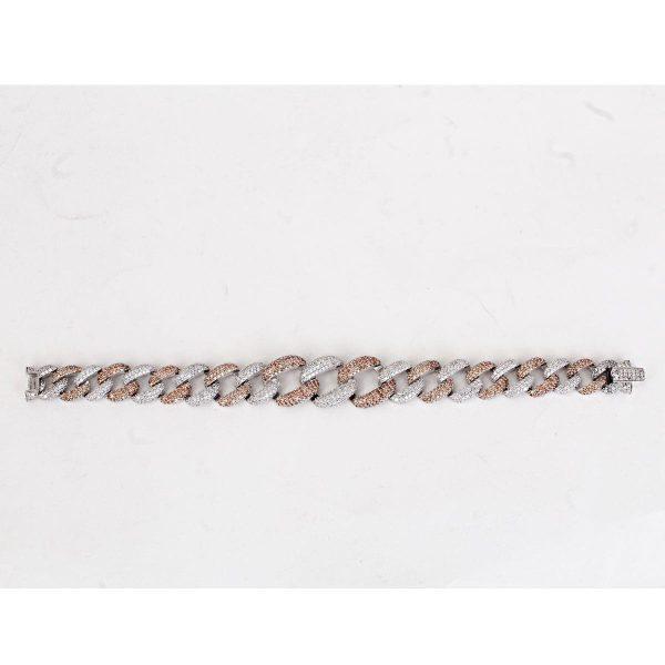 دستبند نقره مد و کلاس کد ۱۸۰۳۸۰